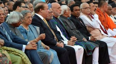 saarc leaders at modi's inaugaration