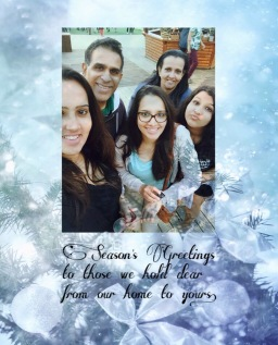 family greeting 2015