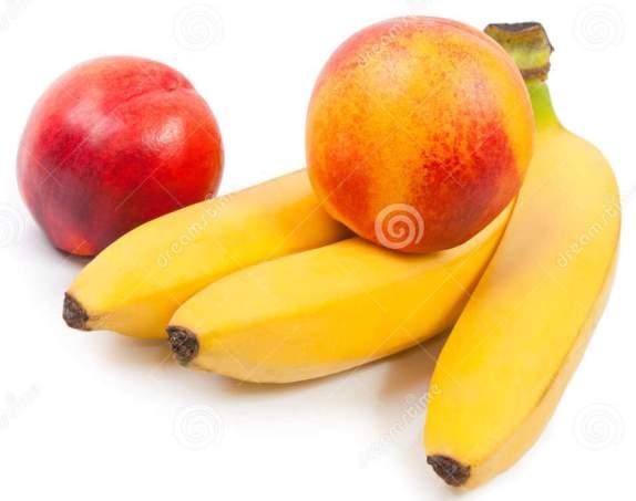 peaches-bananas