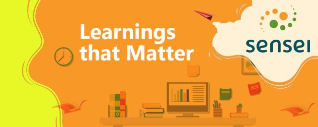 Learnings that Matter